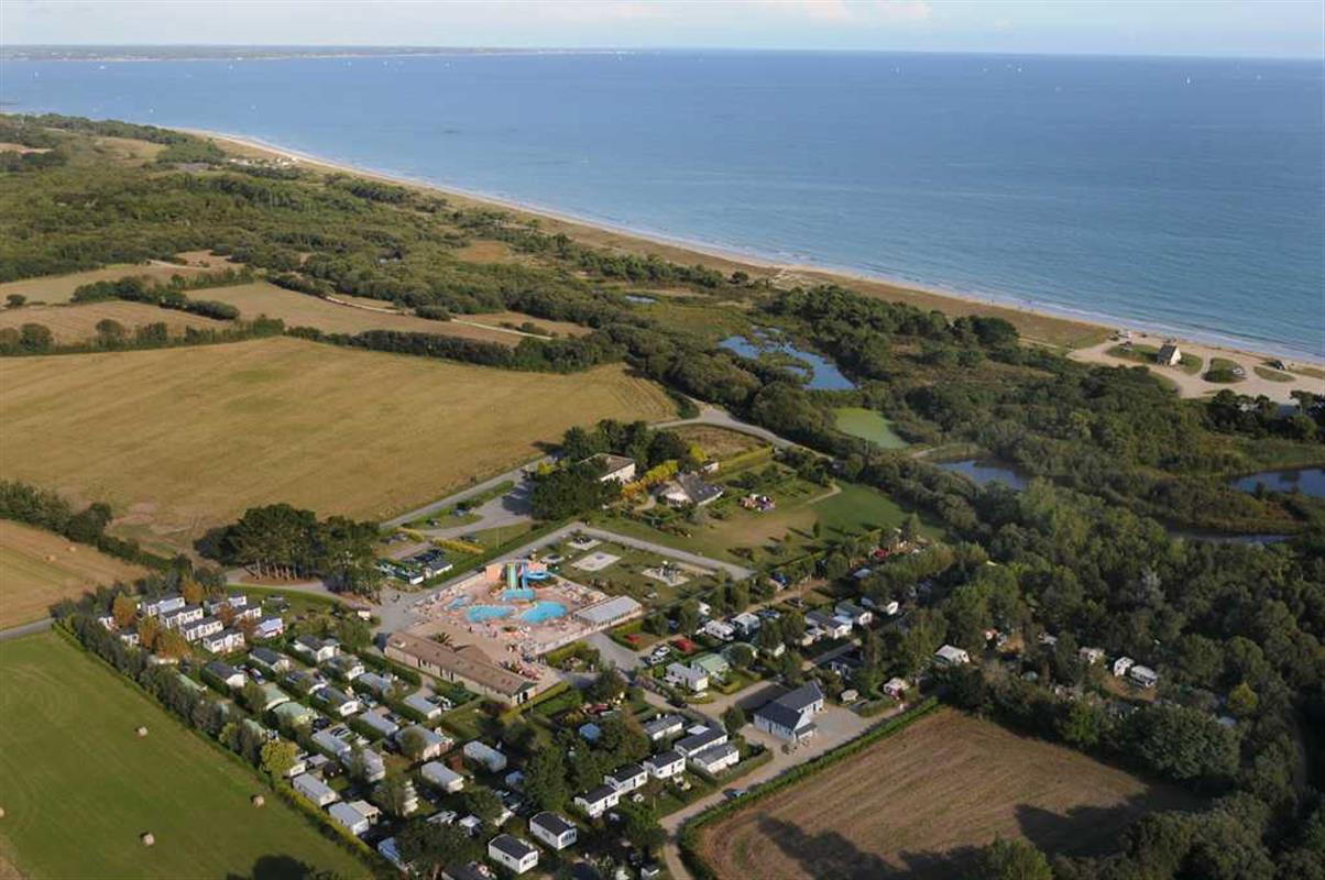 Camping de la plage de cleut rouz fouesnant for Camping de la piscine fouesnant